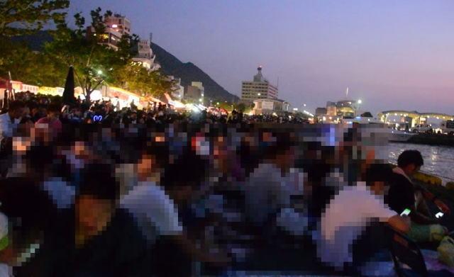 2016年8月13日 関門海峡花火大会